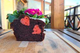 Un plumcake amorevole al cioccolato